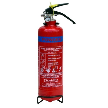 Fire Extinguishers For Static CAravans & Mobile Homes